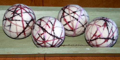 Natural Parents Network Giveaway: Tumblewool Wool Dryer Balls and Felted Soap — $44 ARV {8.24; US}