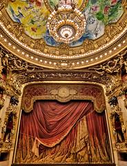 The Opera Garnier in Paris