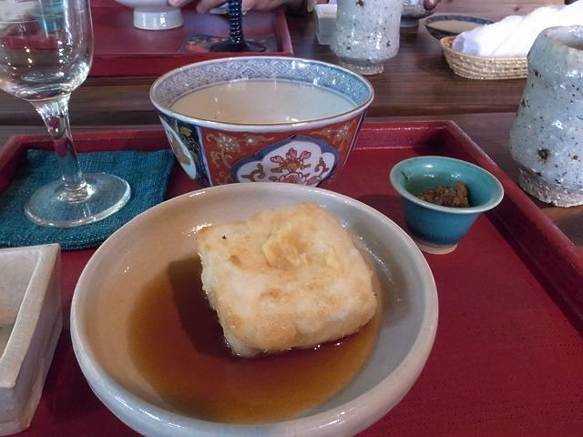 <p>i)ピーナッツ豆腐</p>