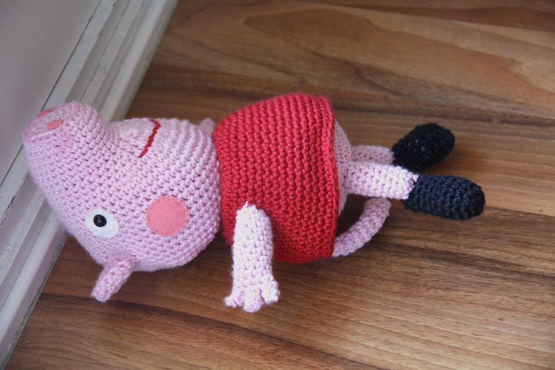 Patron Amigurumi Peppa Pig Grande : 5