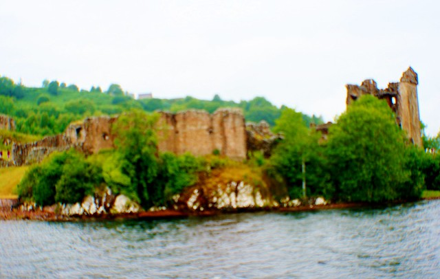 Urquhart Castle from Loch Ness, Scotland