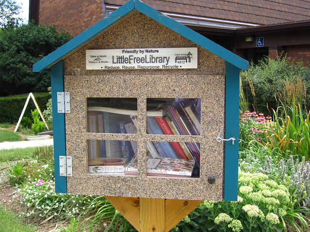 One of many Little Free Librar(ies) in Madison, WI