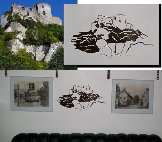 Création et fabrication d'un sticker original d'après une photo.