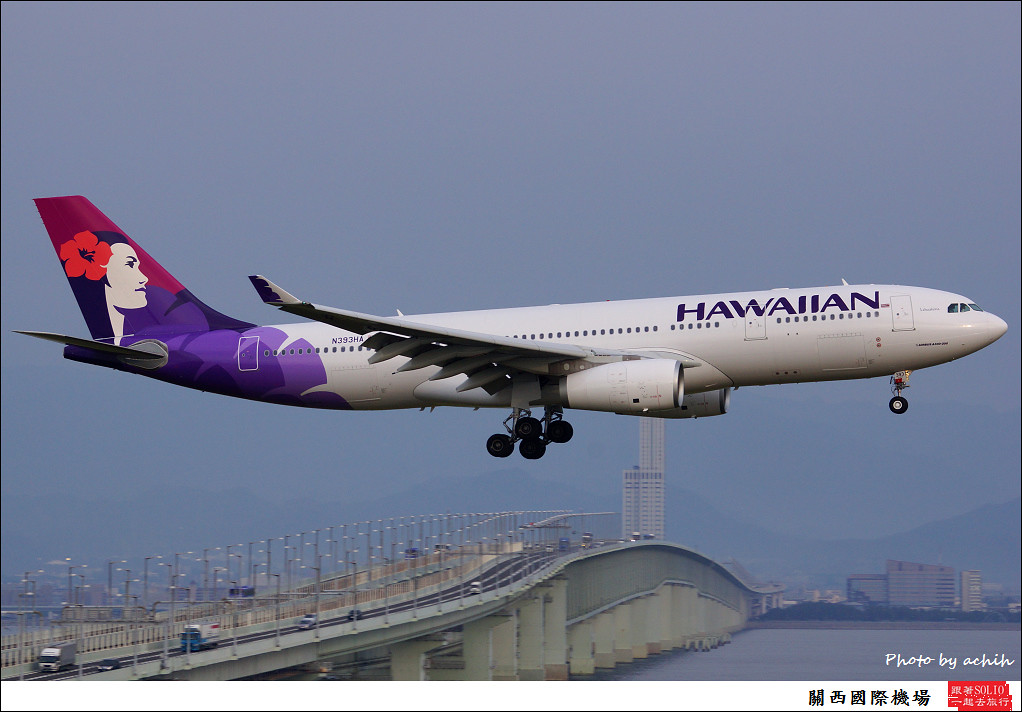 Hawaiian Air N393HA
