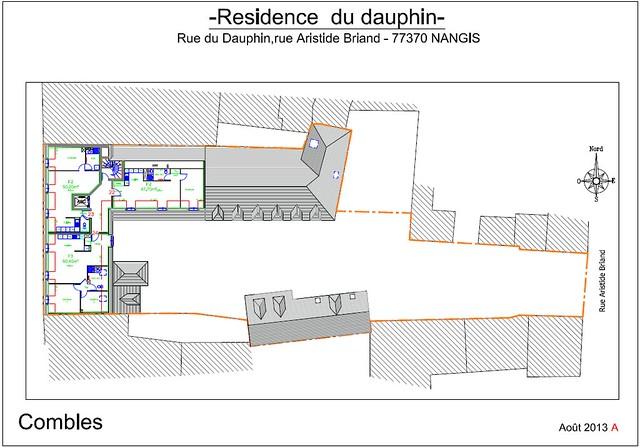 Résidence du Dauphin - Plan de vente - Combles