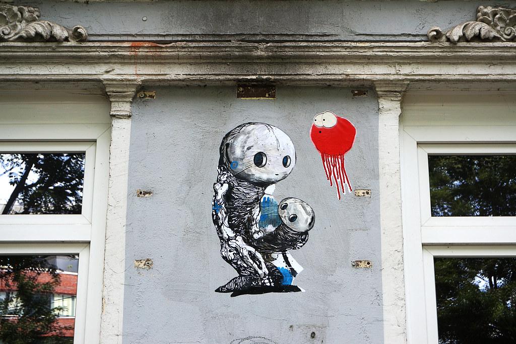Sam Crew Street Art