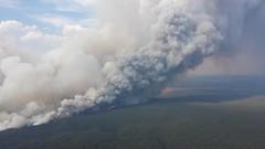 wildfire, cumulus, volcano,