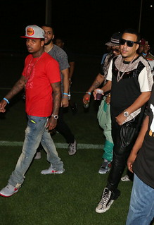 Meek Mill , French Montana , Mavado,  Jim Jones, French, Lil Durk & Fabolous at the  2013 Starfest Music Jam Concert