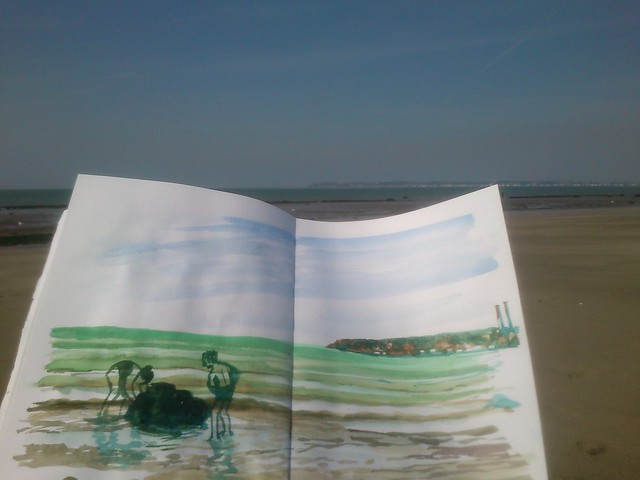 Normandy Holidays Homework #2 - spring tide pic