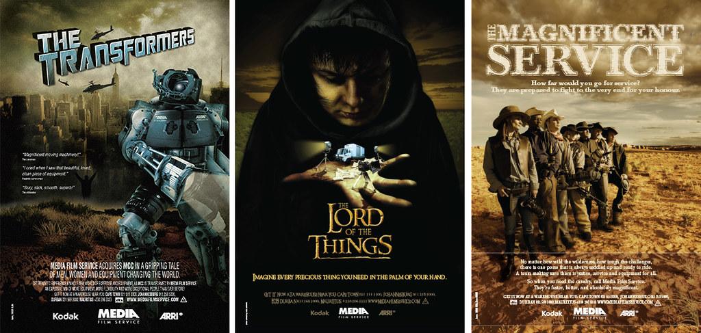 Media Film Poster series