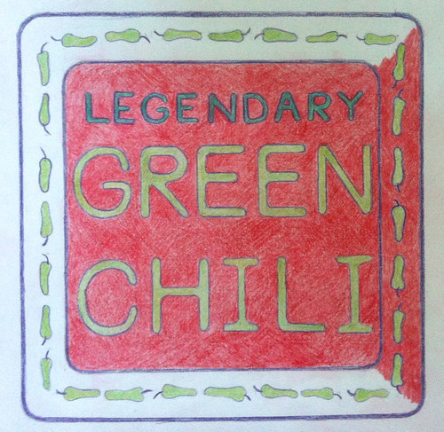 Legendary Green Chili (Illustration as of Sept. 9, 2013) by randubnick