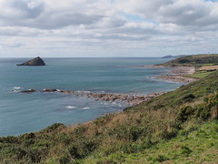 Wembury Bay and the Great Mew Stone