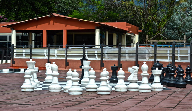 Chess Anyone, Lake Atitlan - Resorts in Guatemala