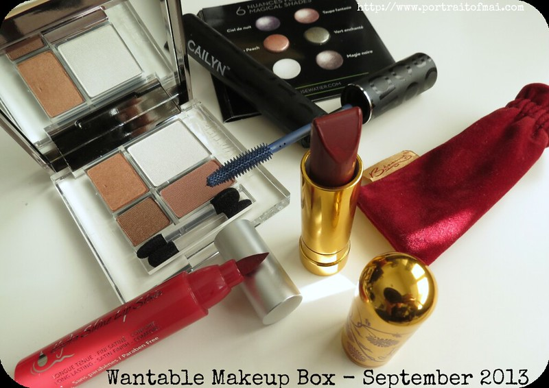 Wantable Makeup Box September