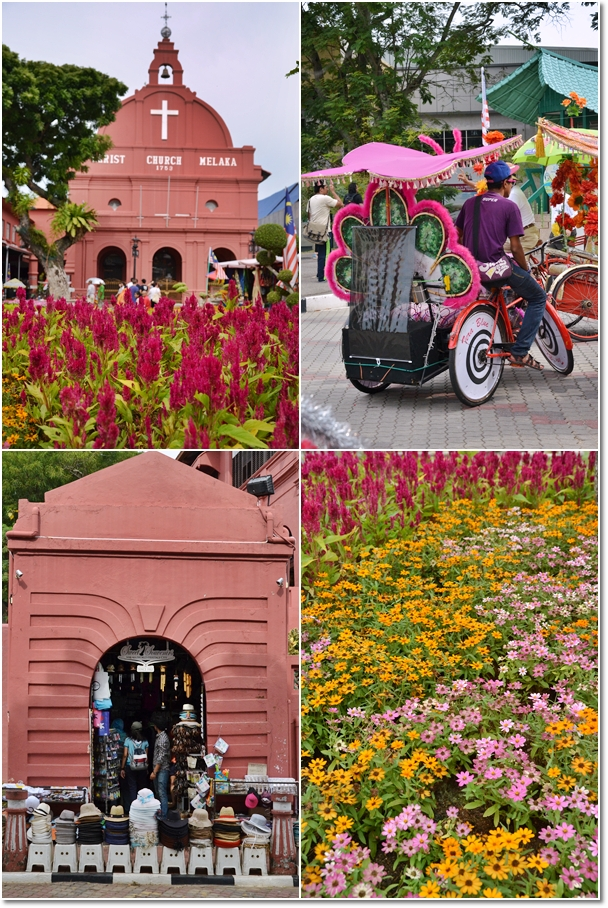 Sightseeing in Malacca Town