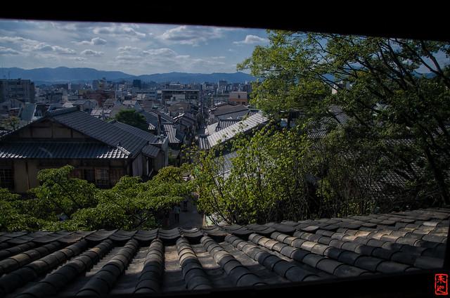 「眺望」 法観寺 - 京都