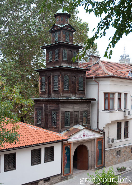 Wooden church in Plovdiv Bulgaria