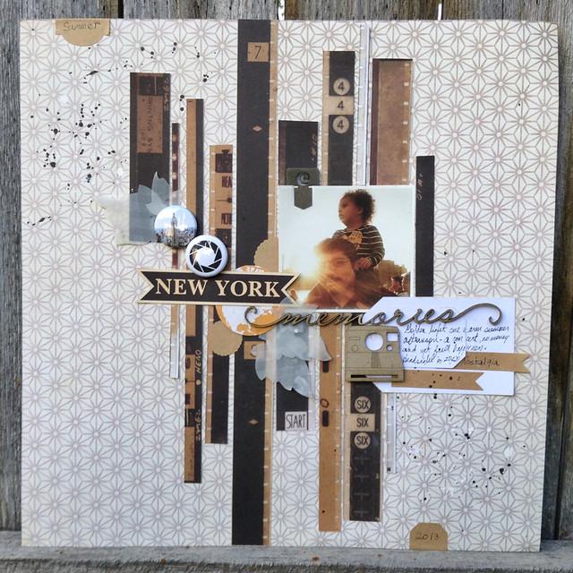 New York Memories Inspiration Elevator Nostalgia Challenge