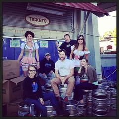 My #oktoberfest crew!