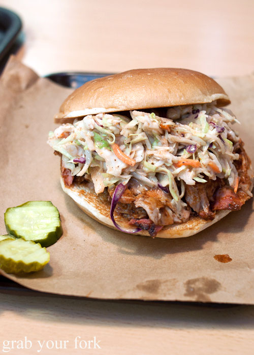 pulled pork Oklahoma Joe's BBQ barbecue meat Kansas City Missouri
