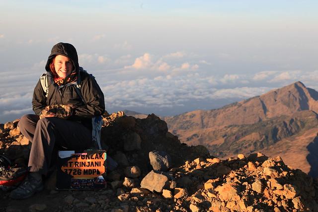 Summit, Gunung Rinjani, Lombok