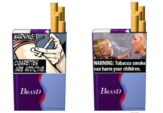 publicidad en cajetillas