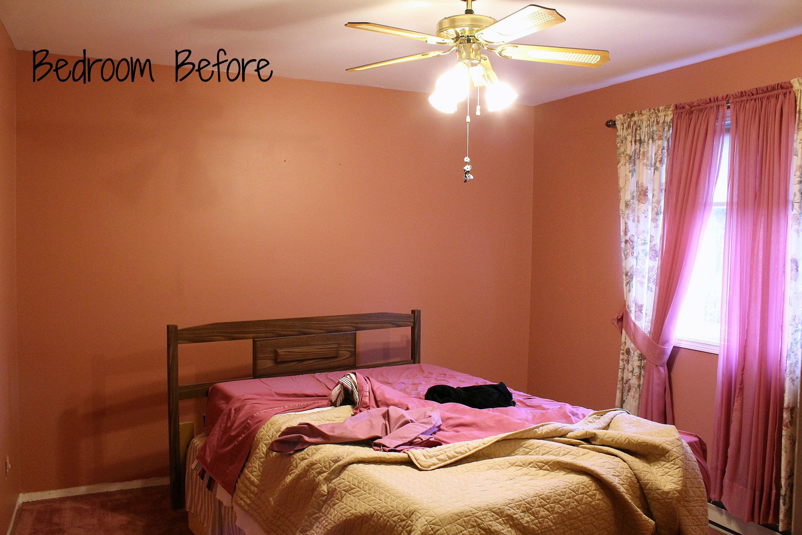 turtles and tails bedroom makeover goodbye dusty rose