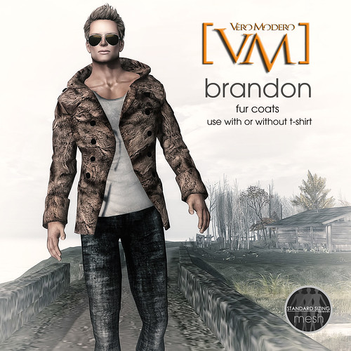 [VM] VERO MODERO Brandon Fur Jackets