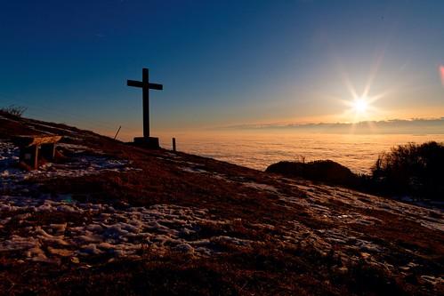 sunrise schweiz nebel sonnenaufgang solothurn weissenstein nebelmeer