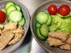 朝食サラダ 2013/11/27