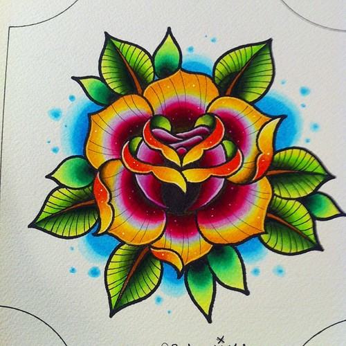 Tattoo pictures and prices, traditional flower tattoo