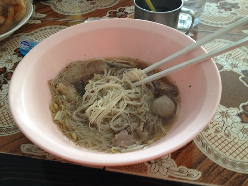 The cost of this dish was 30 baht (about $0.93)