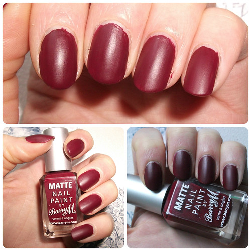 Barry M Matte Crush NOTD