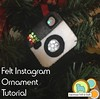 instagram ornament tutorial