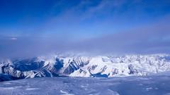 Widok ze szczytu Denali (6149m) na płn.