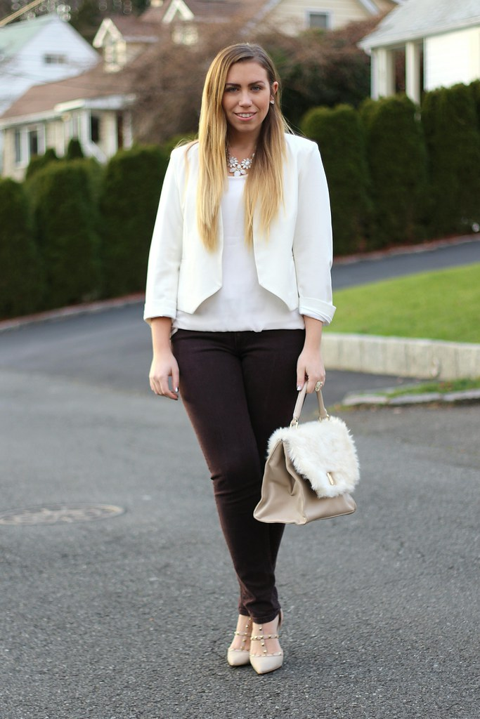 Living After Midnite: Winter White Fashion