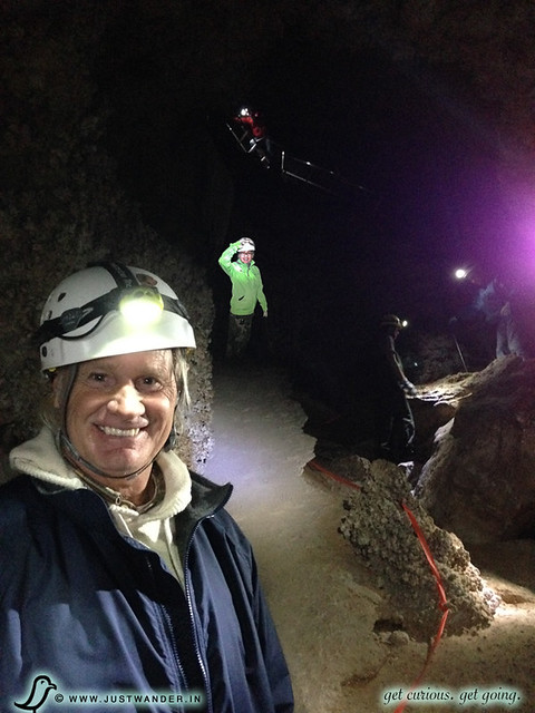 PIC: Enjoying the 3 hour Lower Cave Tour at Carlsbad Caverns National Park - Back up the ladders