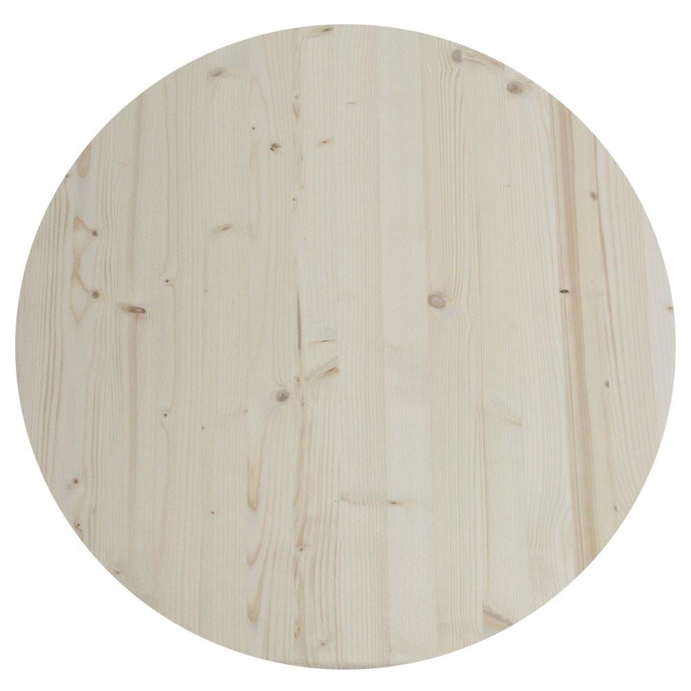 24 unfinished wood spruce round table top allwoodoutlet. Black Bedroom Furniture Sets. Home Design Ideas