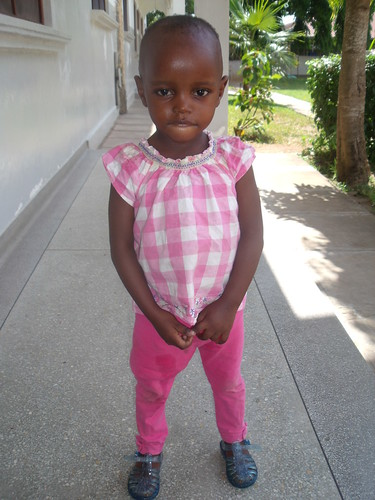 Joyce today at the orphanage