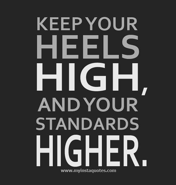 Heels high