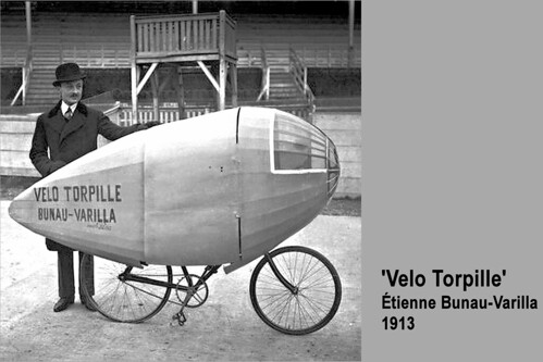 1913 Torpedo-shaped bicycle