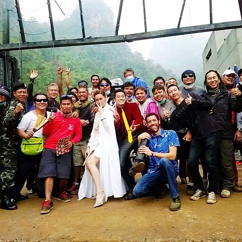 131218(1) - 真人電影《魯邦三世》將在2014/8/30上映、「小栗旬」與劇組搞笑殺青照片&首張海報出爐! 2 FINAL