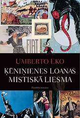 Ķēniņienes Loanas mistiskā liesma by Umberto Eko
