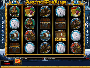 Arctic Fortune Bonus Game