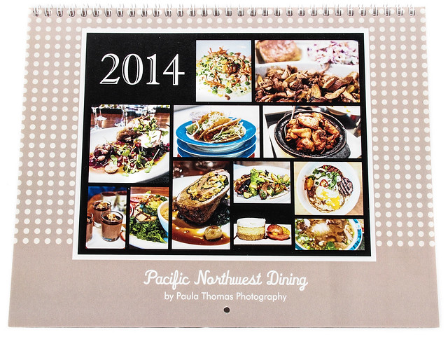 Pacific Northwest Dining 2014 Calendar