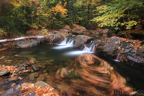 Ossipee Stream Swirl