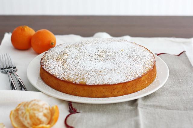 whole wheat clementine yogurt cake