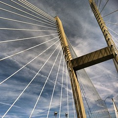 Ponte estaiada #bridge #constructions #savannah #georgia #southcarolina