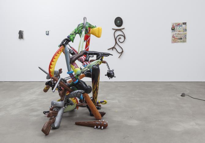 BATMAN ELEKTRONIK, Galerie Mikael Andersen ,  Curated by Fritz Bornstück & Ernst Markus Stein