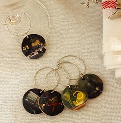 Mini Masterpiece Wine Charms